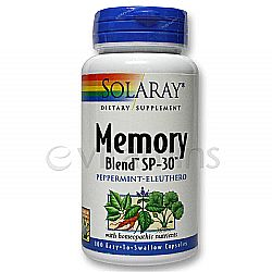 Solaray Memory Blend SP-30
