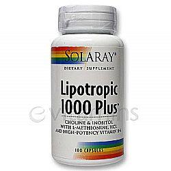 Solaray Lipotropic 1000 Plus