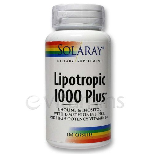 Solaray Lipotropic 1000 Plus  - 100 Caps - 20091130_112.jpg