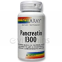 Solaray Pancreatin 1300