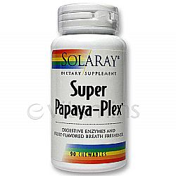 Solaray Papaya-Plex Super