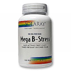 Solaray B-Stress Mega Two Stage Timed Release