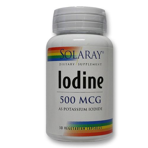 Iodine as Potassium Iodide