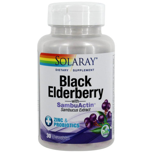 Black Elderberry with Zinc and Probiotics