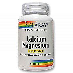 Solaray Calcium Magnesium with Vitamin D