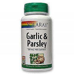 Solaray Garlic  Parsley