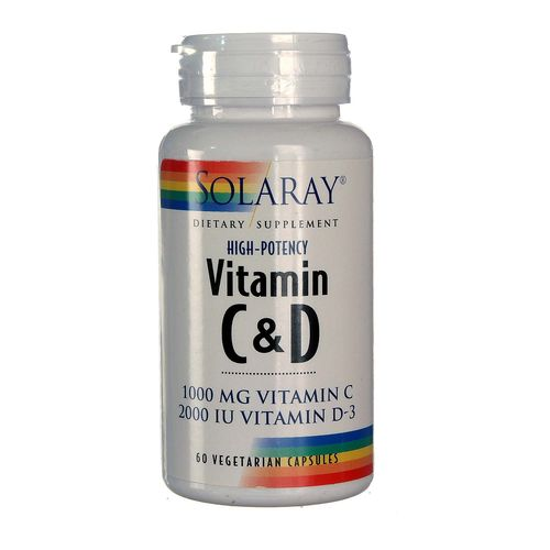 High Potency Vitamin C  D
