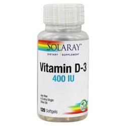 Solaray Vitamin D-3