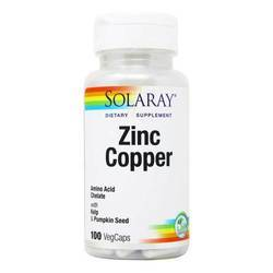 Solaray Zinc Copper