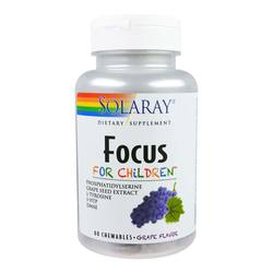 Solaray Focus for Children