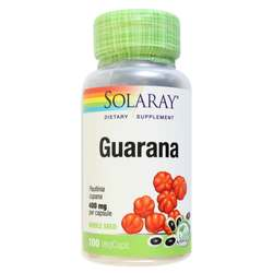Solaray Guarana 400 mg per capsule