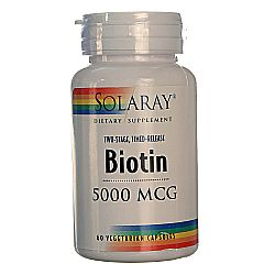 Solaray Biotin Two Stage