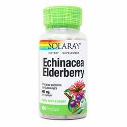 Solaray Echinacea Elderberry 440 mg
