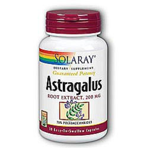 Astragalus Root Extract 200 毫克 by Solaray - 30 粒