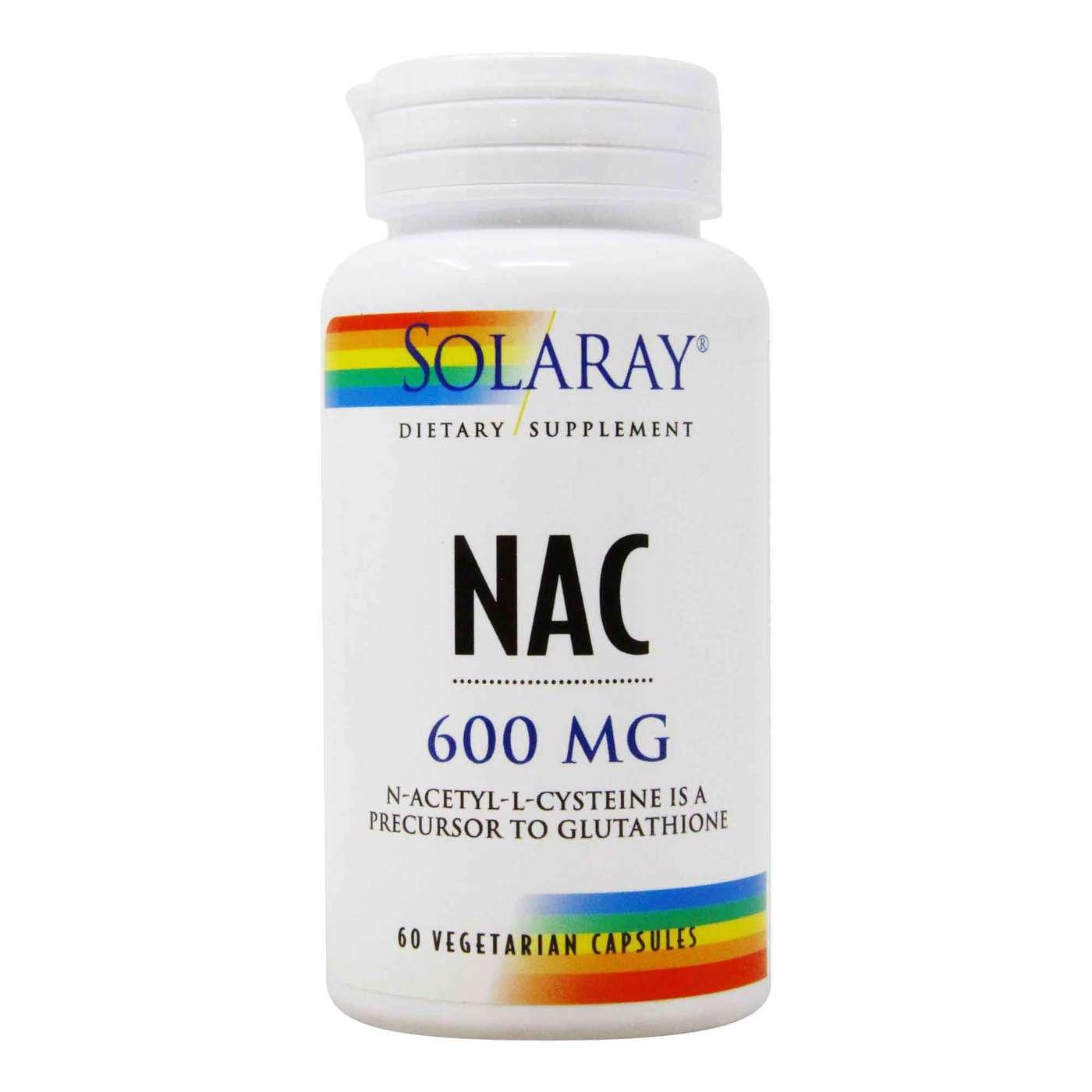 Solaray NAC N Acetyl L Cysteine   15 Vegetarian Capsules