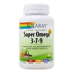 Solaray Super Omega 3-7-9 with D3