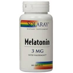 Solaray Melatonin-3 with Valerimint