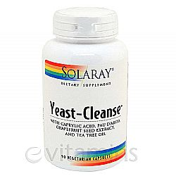Solaray Yeast-Cleanse