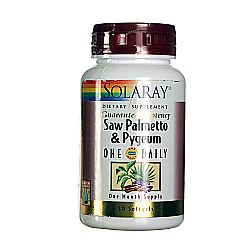 Solaray Saw Palmetto and Pygeum One Daily