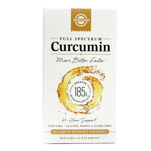 Solgar Full Spectrum Curcumin - 60 Liquid Extract Softgels - 033984547070_1.jpg