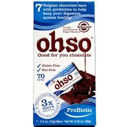 Solgar OHSO Probiotic Chocolate