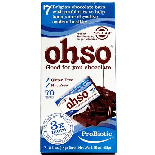 OHSO Probiotic Chocolate
