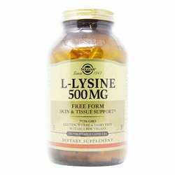 Solgar L-Lysine 500 mg