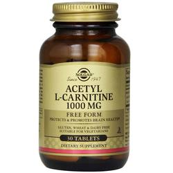 Solgar Acetyl L-Carnitine 1000 MG