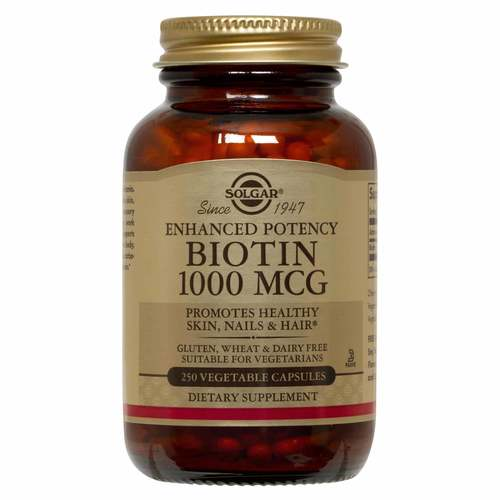 Enhanced Potency Biotin 1-000 MCG