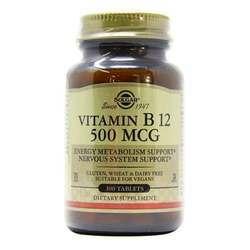 Solgar Vitamin B12 500 mcg