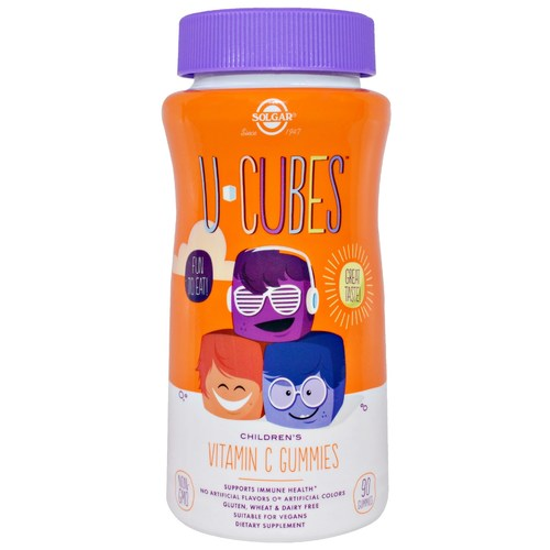 U-Cubes Children's Vitamin C Gummies 250 mg