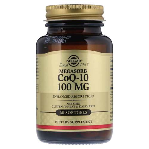 MEGASORB CoQ10 100mg