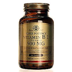 Solgar Super Potency Vitamin B1 500 mg