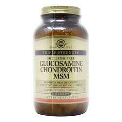 Solgar Triple Strength Glucosamine Chondroitin MSM (Shellfish-Free)