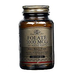 Solgar Folate 1000 mcg as Metafolin