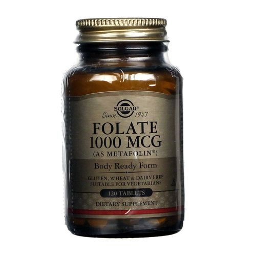 Folate 1000 mcg as Metafolin