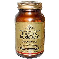 Solgar Super High Potency Biotin 10,000 mcg