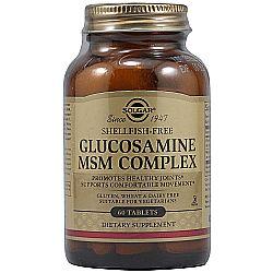 Solgar Glucosamine MSM Complex - Shellfish Free