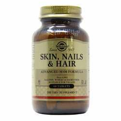 Solgar Skin - Nails and Hair Adv. MSM Formula