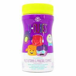 Solgar U-Cubes Children's Multivitamin and Mineral Gummies