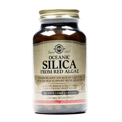 Oceanic Silica from Red Algae