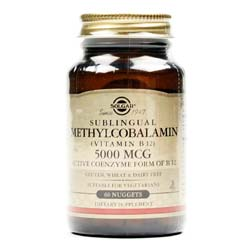 Solgar Sublingual Methylcobalamin