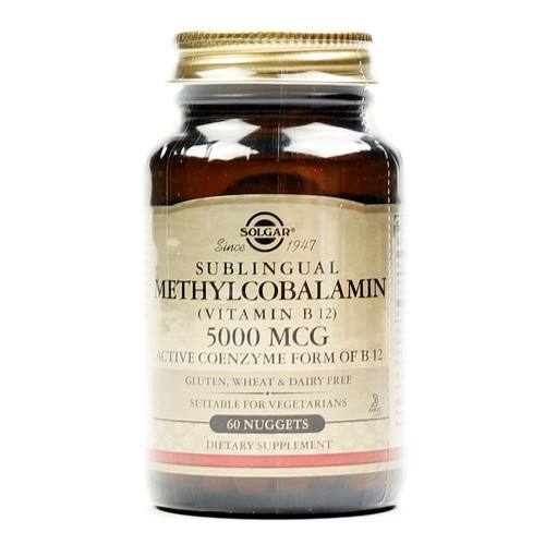 Sublingual Methylcobalamin 5000 mcg