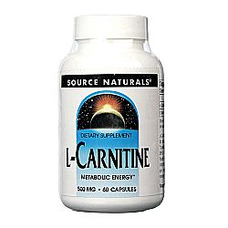 Source Naturals L-Carnitine 500 mg