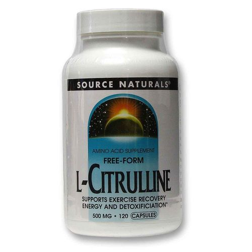 Source Naturals L-Citrulline  - 500 mg - 120 Capsules - 20120222_110.jpg
