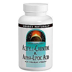 Source Naturals Acetyl L-Carnitine  Alpha Lipoic Acid
