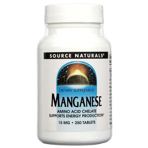 Manganese Chelate 15 mg Elemental