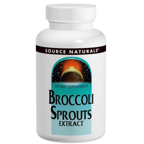 Source Naturals Broccoli Sprouts - 120 mg - 60 Tablets