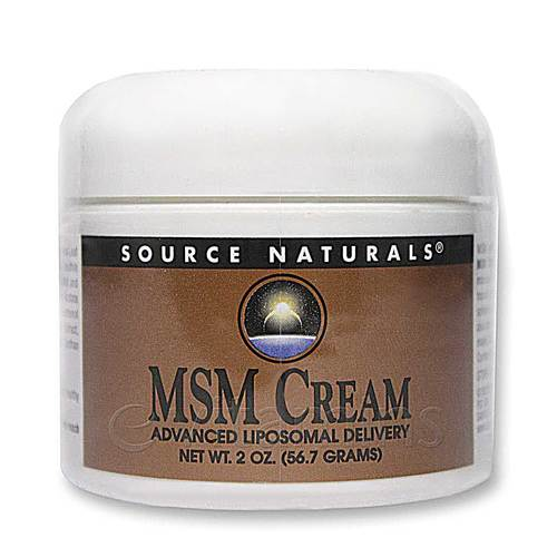 MSM Cream Advanced Liposomal Delivery