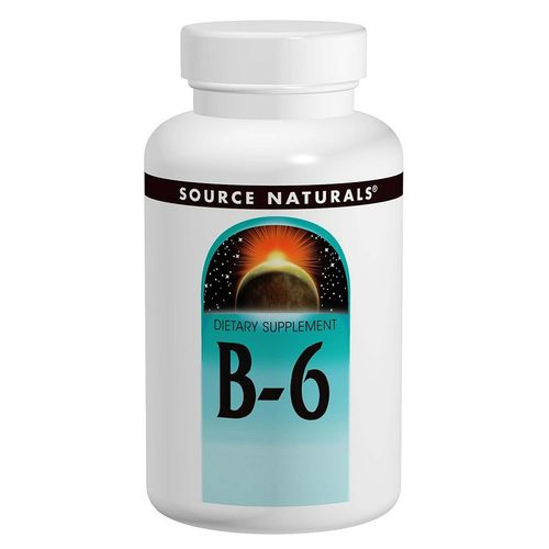 Vitamin B-6 Timed Release, 500 mg